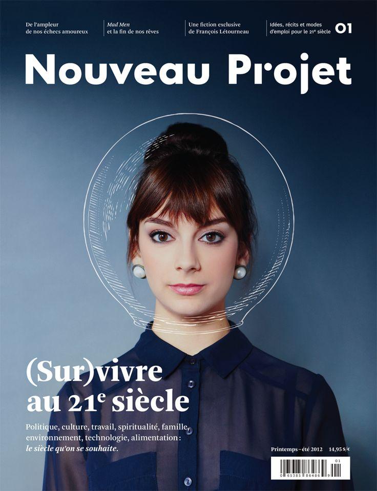 Nouveau Projet 01, Printemps-été 2012 (New magazine published in Montreal.)