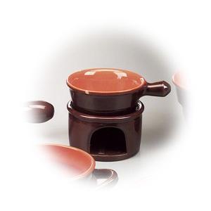 Arzator si cratita cu un maner, realizate din ceramica, din colectia Coccio.