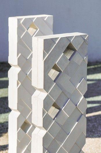 Bike support TRACK, design Spritz Ultra High Performance Concrete