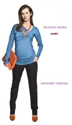 Maternity blouse DIUNA / Bluzka ciążowa DIUNA http://maternity24.pl/pl/p/Bluzka-ciazowa-Diuna/1191