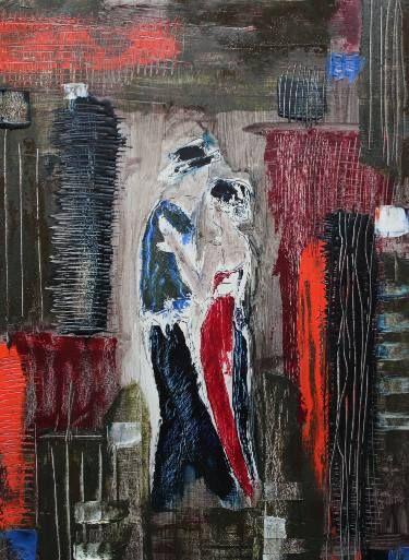 "Saatchi Art Artist Donatella Marraoni; Painting, ""Don't Stop"" #art"