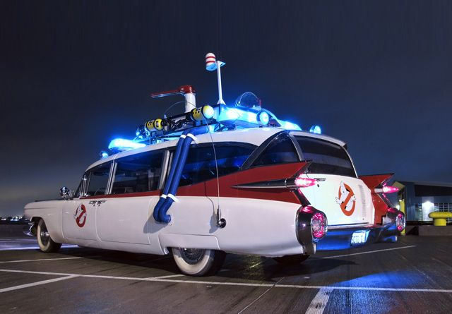 Ghostbusters 1959 Cadillac Miller Meteor Ambulance
