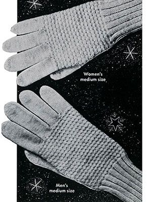 Link to download the FREE  knitting pattern for Classic Glvoes knit pattern published in Gloves and Mittens, Bernhard Ulmann #29.
