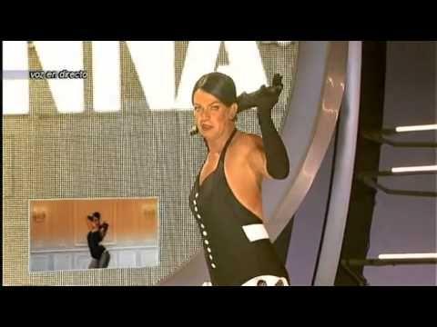 Arturo Valls as Rihanna on Spanish Television Tu Cara Me Suena.