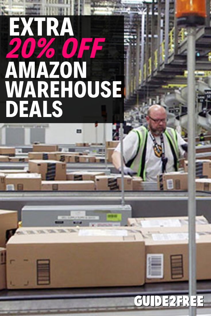 Amazon Is Offering An Extra 20 Off Amazon Warehouse Deals This