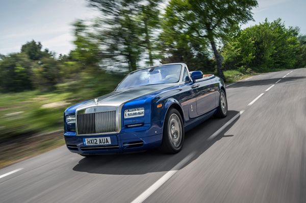 Most expensive car at 2013 @BostonAutoShow is Rolls Royce Phantom Drophead Coupe at 469K