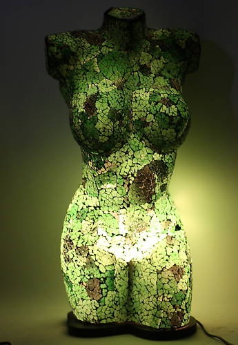 1000 images about mannequin lamps on pinterest floor for Table mosaic xl 6 chaises encastrables