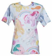EXCLUSIVE Unisex My Little Pony All Over Print T-Shirt from Mr Gugu And Miss Go