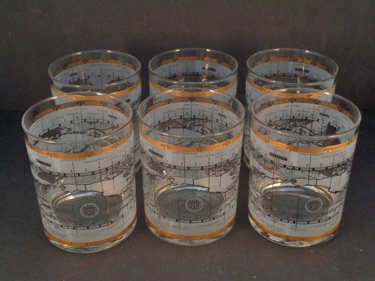 Barware Collection - CERA - INTERNATIONAL TIME ZONE - ROCKS GLASSES