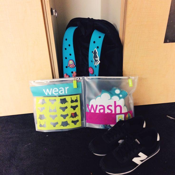 Bolsa de viaje weay & wash de Squid. Ideal para llevar de vacaciones, un viaje laboral, al gym, inclusive si eres mamá la ropa de tu bebé. Separa la ropa usada y limpia, tiene control de olor.