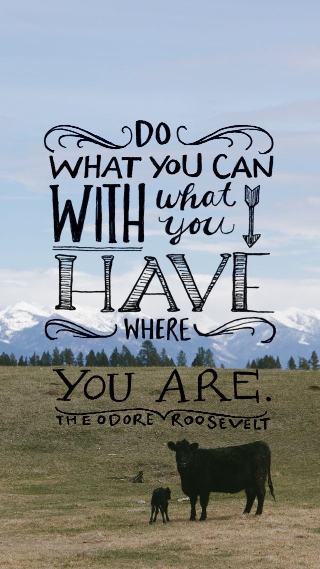 Do what you can with what you have where you are. Teddy Roosevelt. What will you accomplish today? Go ahead, get going Cooperative Resources International(CRI) is ready to work beside you. http://cri.crinet.com/