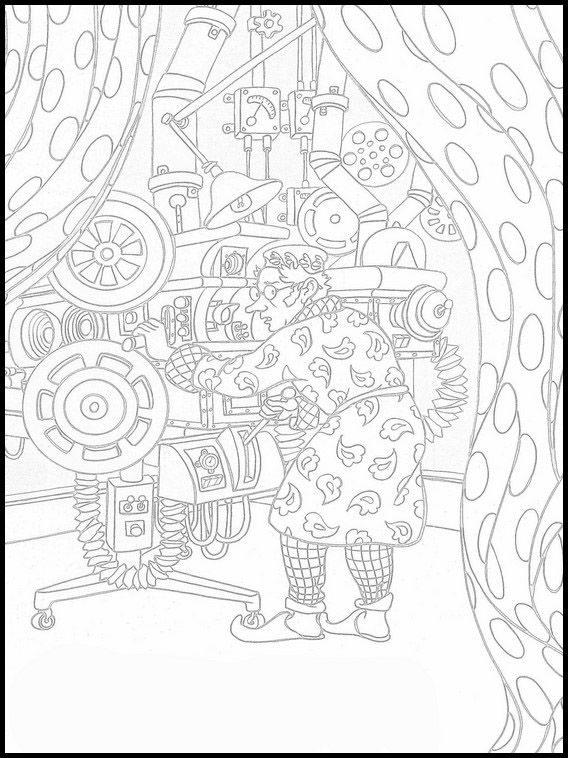 The Wizard Of Oz 11 Printable Coloring Pages For Kids Online Coloring Pages Printable Coloring Book Coloring Pages