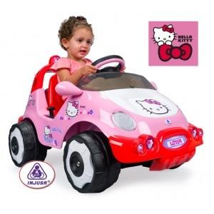 Coche eléctrico Hello Kitty en http://www.tuverano.com/coches-electricos-infantiles/378-coche-electrico-hello-kitty.html