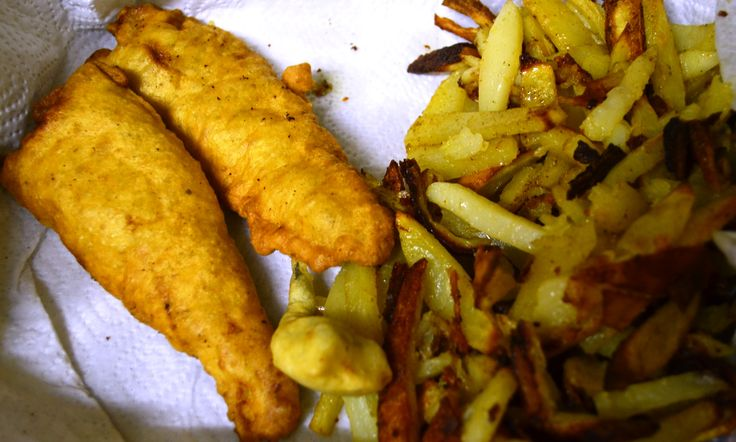 Old fashioned Fish & Chips with my secret batter