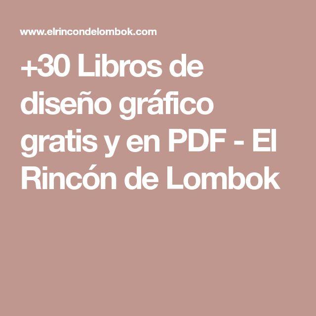 +30 Libros de diseño gráfico gratis y en PDF - El Rincón de Lombok