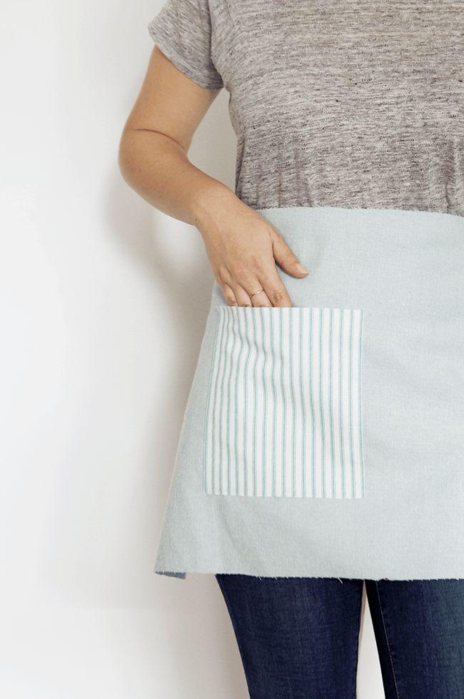 DIY no-sew apron | almost makes perfect