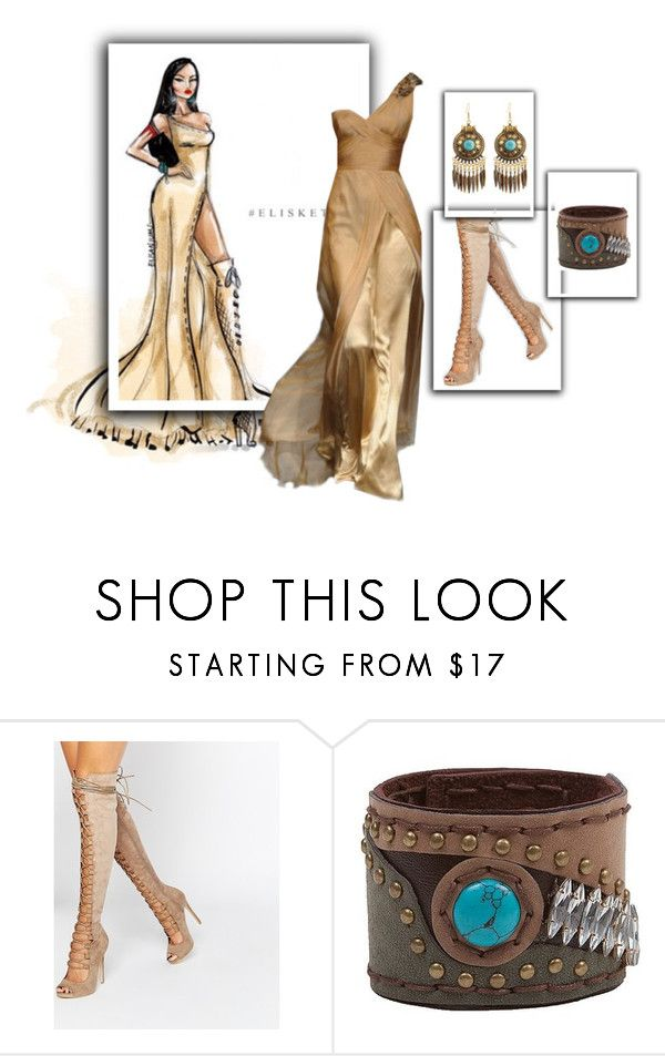 """Pocahontas"" by desertdiamonddiva ❤ liked on Polyvore featuring Disney, Daisy Street and BKE"