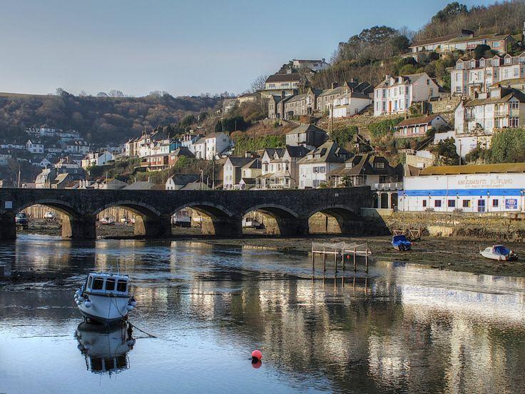 Looe River, Cornwall, England