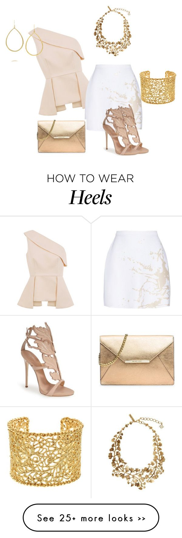 """20.08.2015"" by vicinogiovanna on Polyvore featuring C/MEO COLLECTIVE, Zimmermann, Giuseppe Zanotti, Oscar de la Renta, Brooks Brothers, Ippolita and MICHAEL Michael Kors"