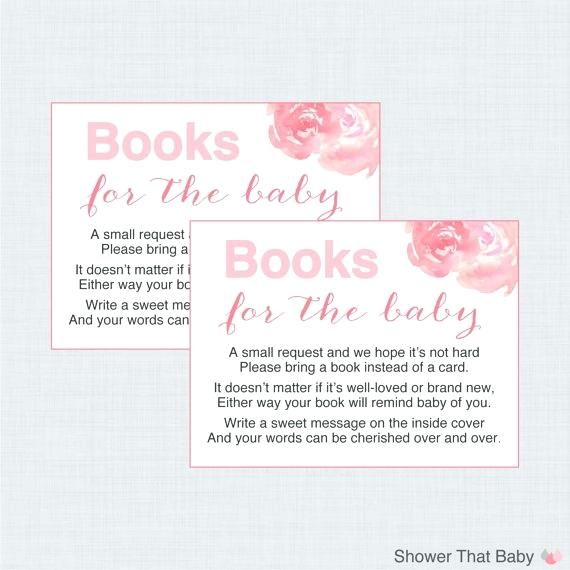 Image Result For Baby Shower Book Instead Of Card Wording