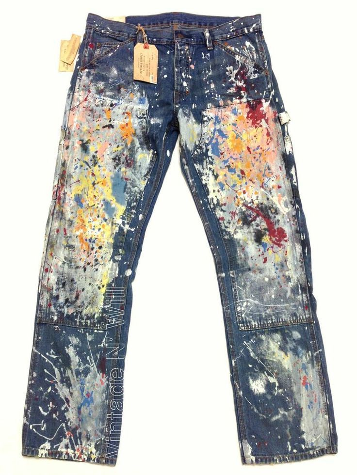 painted jeans diy - Google Search