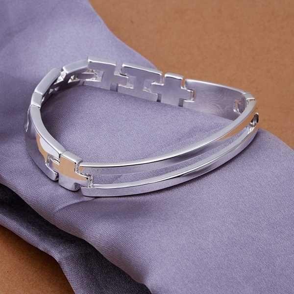 2015 новое поступление 925 серебряные часы ремень мужской браслет для мужской прекрасное мода ювелирных изделий, Два провода ремешок браслет SMTH315