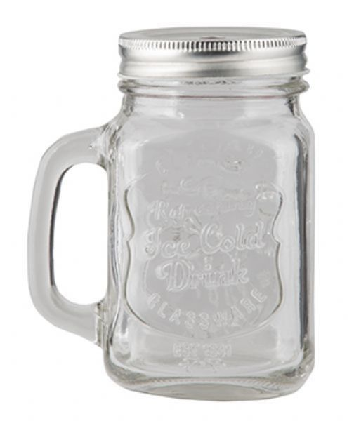 GE Mason Jar with Handle and Lid