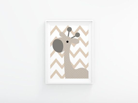 This printable poster is perfect for a gender neutral nursery