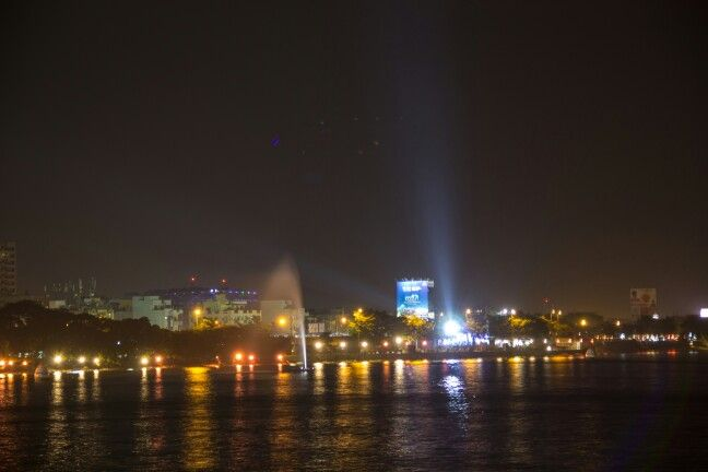 Hyd city lights @tankbund