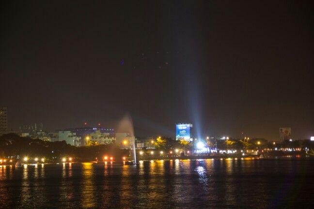 Hyd city lights @tankbund