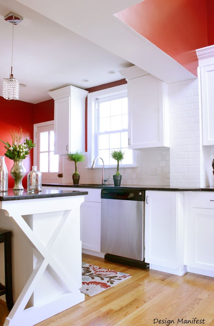 Love the wall color; Design Manifest: Before & After: A DM Kitchen Remodel