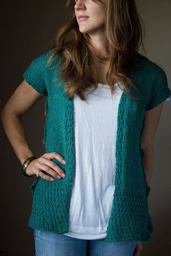 PDF KNITTING PATTERN Seamless Knit Flat by DandilionGirlDesigns