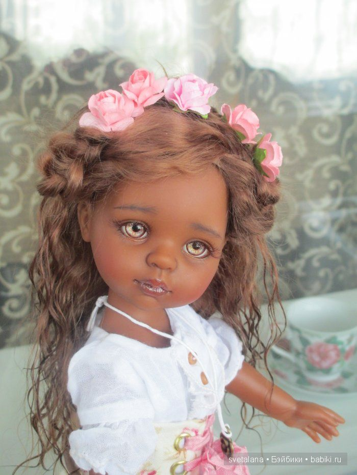My mulatochka LaToya. OOAK dolls Paola Reina / Paola Reina, Antonio Juan dolls and other Spanish / Beybiki. Dolls photo. Clothing for dolls