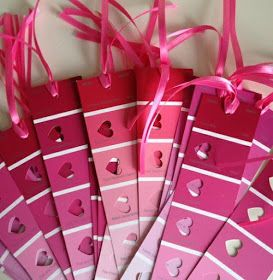 Repurposing ~ Easy Bookmarks and Heart Decorations For Any Table! #TeachersFollowTeachers #FernSmithsClassroomIdeas