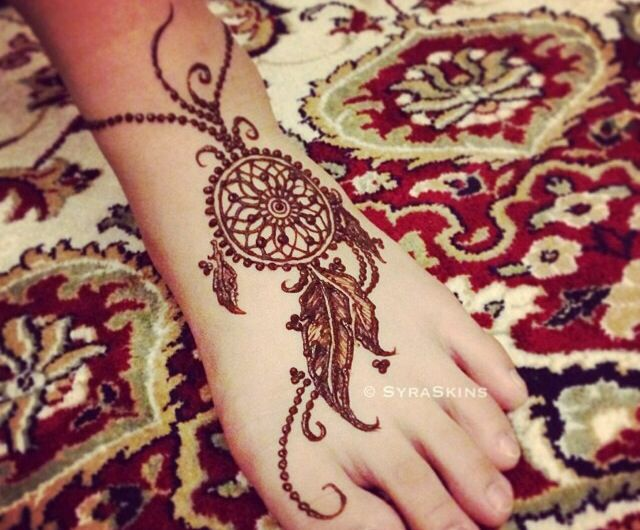 dream catcher? love the feathers