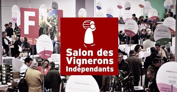 Ce Week-end à la Porte Champerret Paris plus de 500 vignerons vous attendent au Salon des Vins des Vignerons indépendants d
