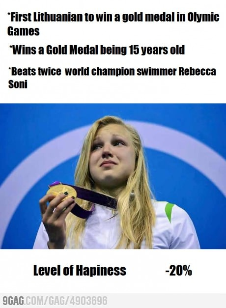 Ruta Meilutyte's pursuit of happiness...