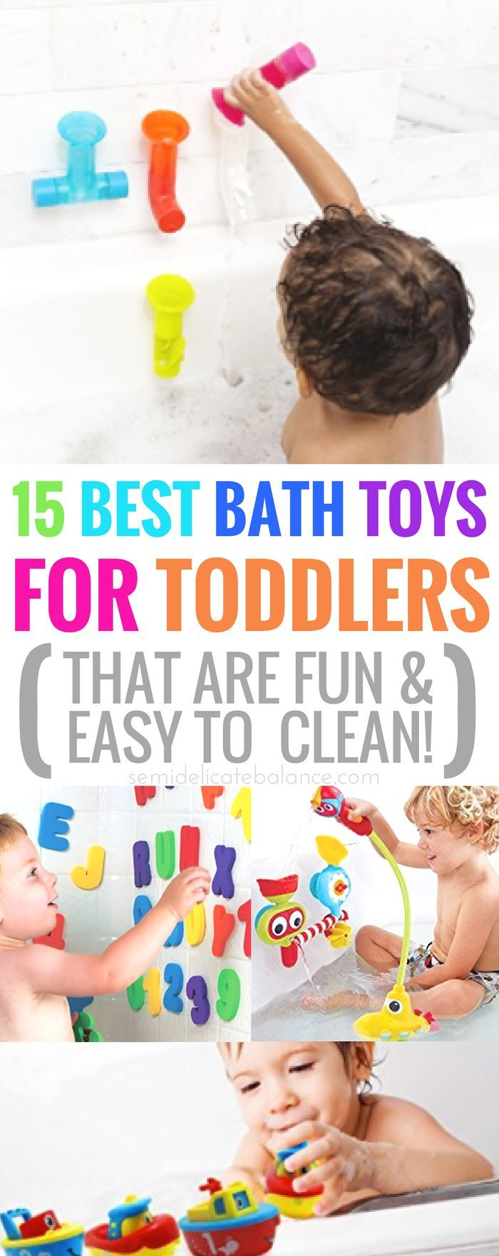 Best Bath Toys Ideas for Toddler Boys or Girls, Great sensory play products and water fun for toddlers
