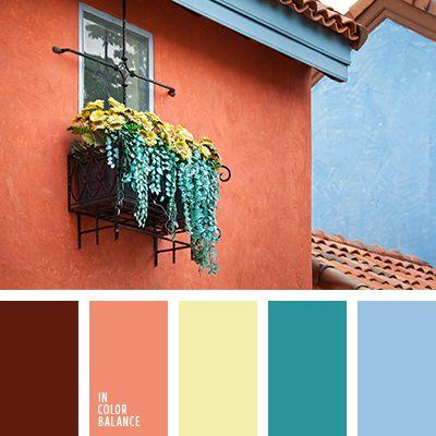 Цветовая палитра №1637 Color Inspiration Orange Color