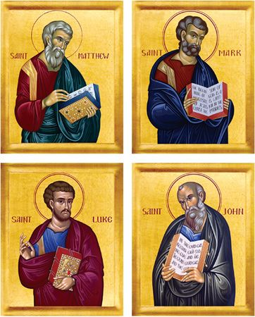 Four Evangelists Matched Set (English)