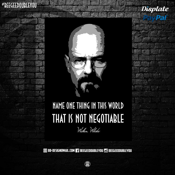 Walter White on Poster! @Displate #black #popart #collection #scarface #hiphop #quotes #breakingbadfans #decoration #mancave #cooking #discount #cartel #awesome #lospollos #biggiesmalls #movies #displate #gustavo #geeks #displates #quote #posters #empire #gangster #worldstar #movie #fanart #sayings #money #urban #natedogg #weed #tvserie #drugs #crystalmeth #white #pinkman #heisenberg #jessepinkman #saulgoodman #netflix #tvshow #series #breakingbad #street #designs #walterwhite #sale…