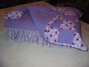 Best Doll Bed Ever   with storage for all the clothes and