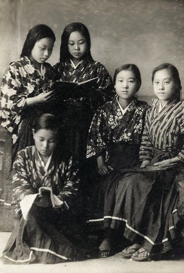 679 best images about Old photos of Japanese wearing ...