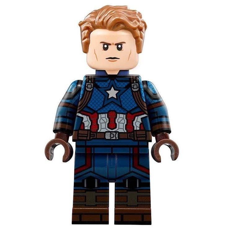Captain America Avengers 4 🇺🇸 *** . credi   Lego marvel's ...
