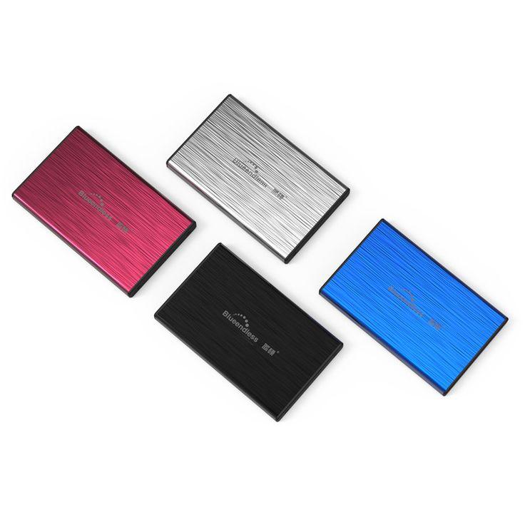 "SATA I,II,III USB 3.0 Metal SSD HDD Enclosure Free shipping 2.5"" Hard Drive Caddy Box"