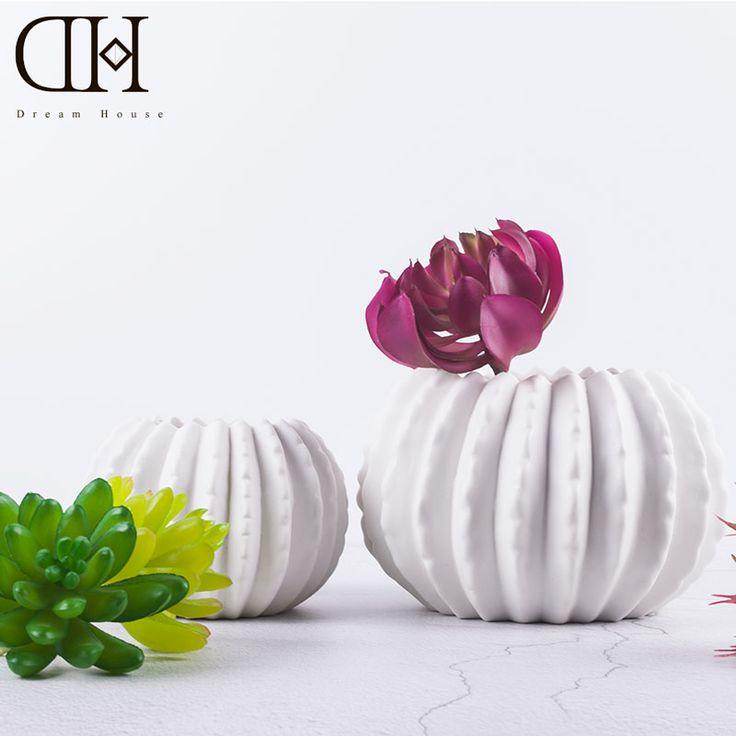 Cheap DH cactus vaso di ceramica bianca per le piante decorazione della casa di porcellana vasi da terra giardino decorazione floreale vaso di ceramica ornamento, Compro Qualità Vasi direttamente da fornitori della Cina: DH cactus vaso di ceramica bianca per le piante decorazione della casa di porcellana vasi da terra giardino decorazione floreale vaso di ceramica ornamento