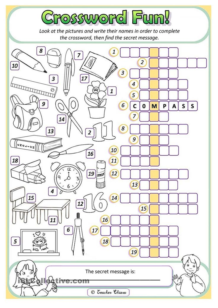 Worksheet Works For Primary : Best crosswords images on pinterest english language