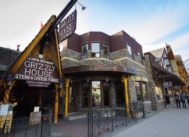 Grizzly House -fondue in Banff