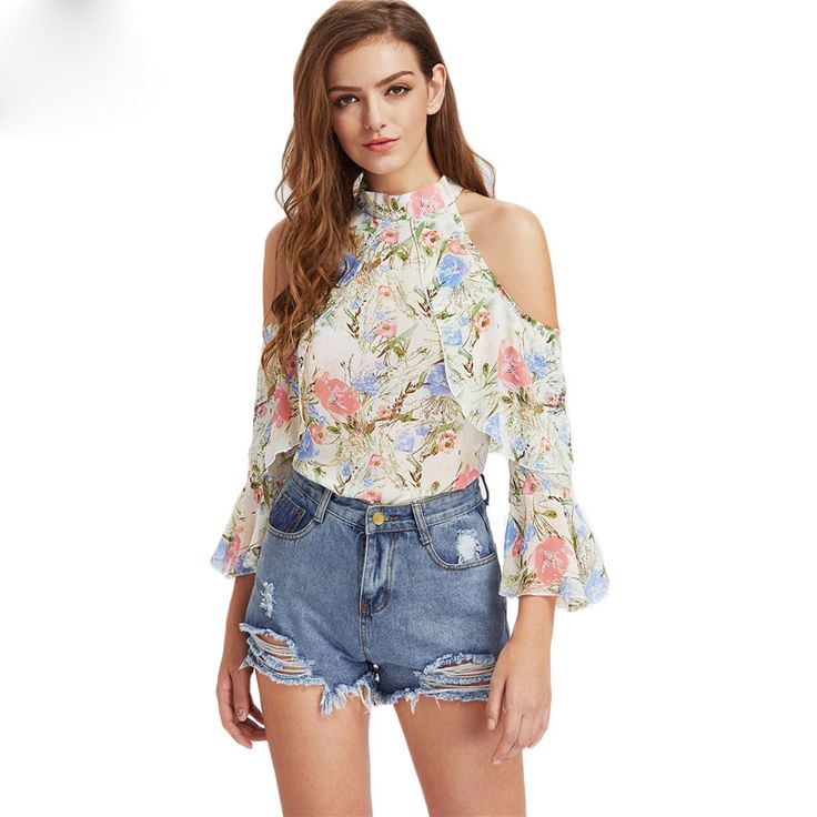 FLORAL FRILL LAYERED