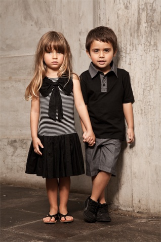 Siera Julian - luxurious contemporary childrens clothes #child #clothing